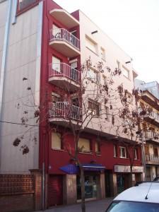 rehabilitació de façanes en edifici plurifamiliar