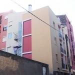 rehabilitació de façana de carrer, mitjanera, pati lateral i esquerra i àtic