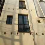 restitución del orden arquitectónico alterado, pintado y restauración de zonas en peor estado